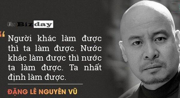 Câu chuyện khởi nghiệp của Đặng Lê Nguyên Vũ