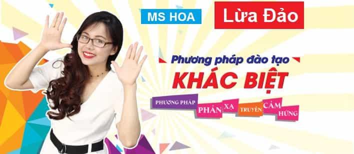 Ms Hoa toeic lừa đảo