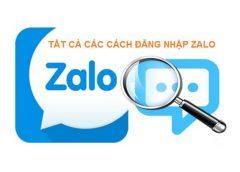 Cách đăng nhập Zalo bằng số điện thoại trên máy tính không cần quét mã