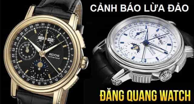 Đăng Quang watch bán hàng fake?