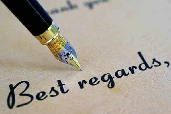 Thanks and best regards nghĩa là gì? Cách sử dụng đúng khi viết email