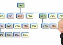 COO - CTO - CFO - CEO là gì? Bạn ở đâu trong số này
