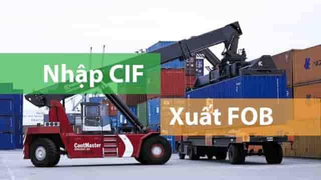 Phân biệt giá CIF và giáFOB
