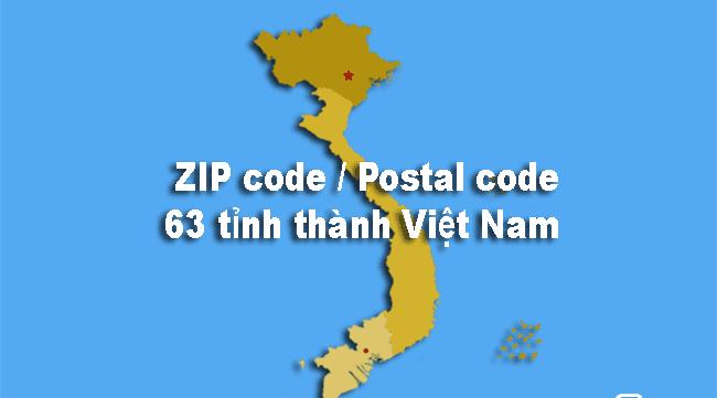 Postal code Vietnam là gì?