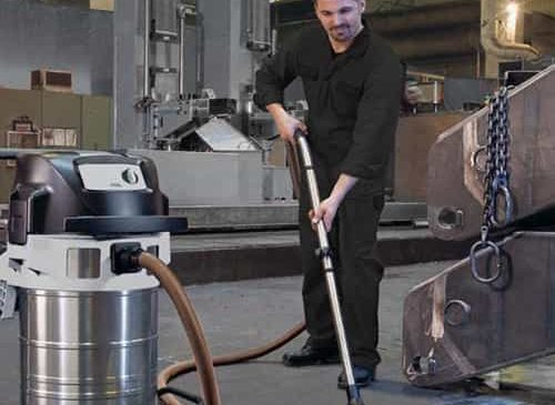 Máy hút bụi công nghiệp được sử dụng phổ biến hiện nay
