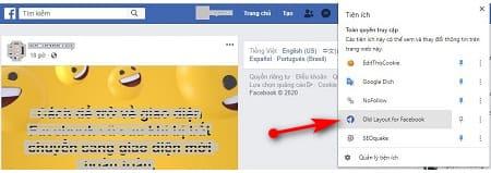 Cách quay trở lại phiên bản facebook cũ - 4