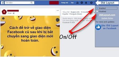 Cách quay trở lại phiên bản facebook cũ - 5