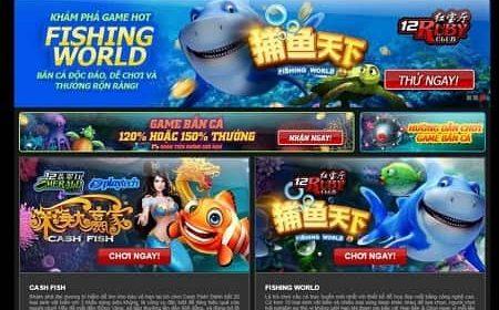 Game bắn cá 12BET - Top 5 game đáng chơi nhất 2020