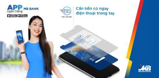 Ứng dụng vay tiền nhanh online MB